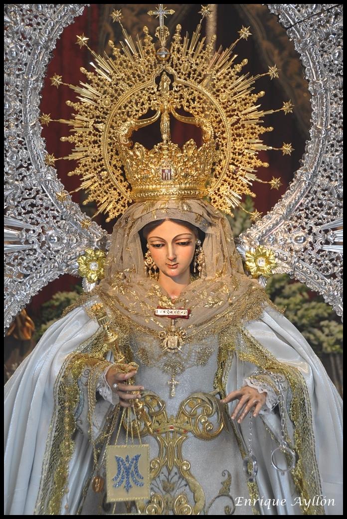 Resultado de imagen de Virgen de las Mercedes de la Puerta Real de Sevilla