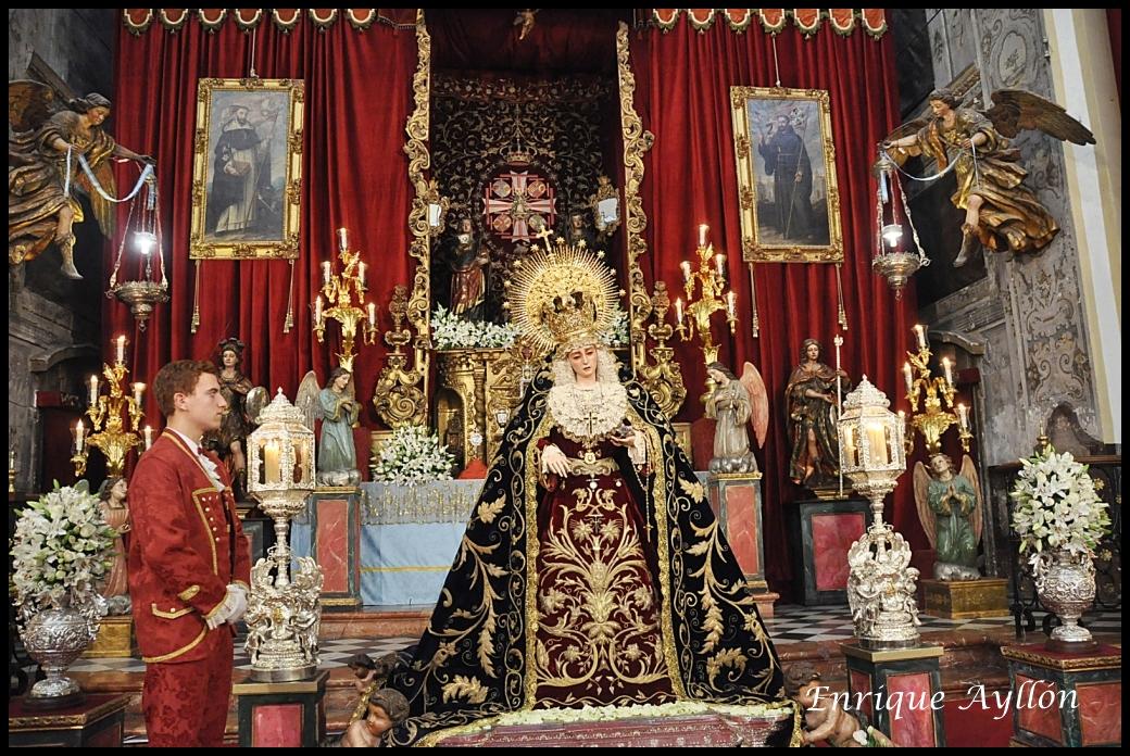 cena Virgen esclavitud