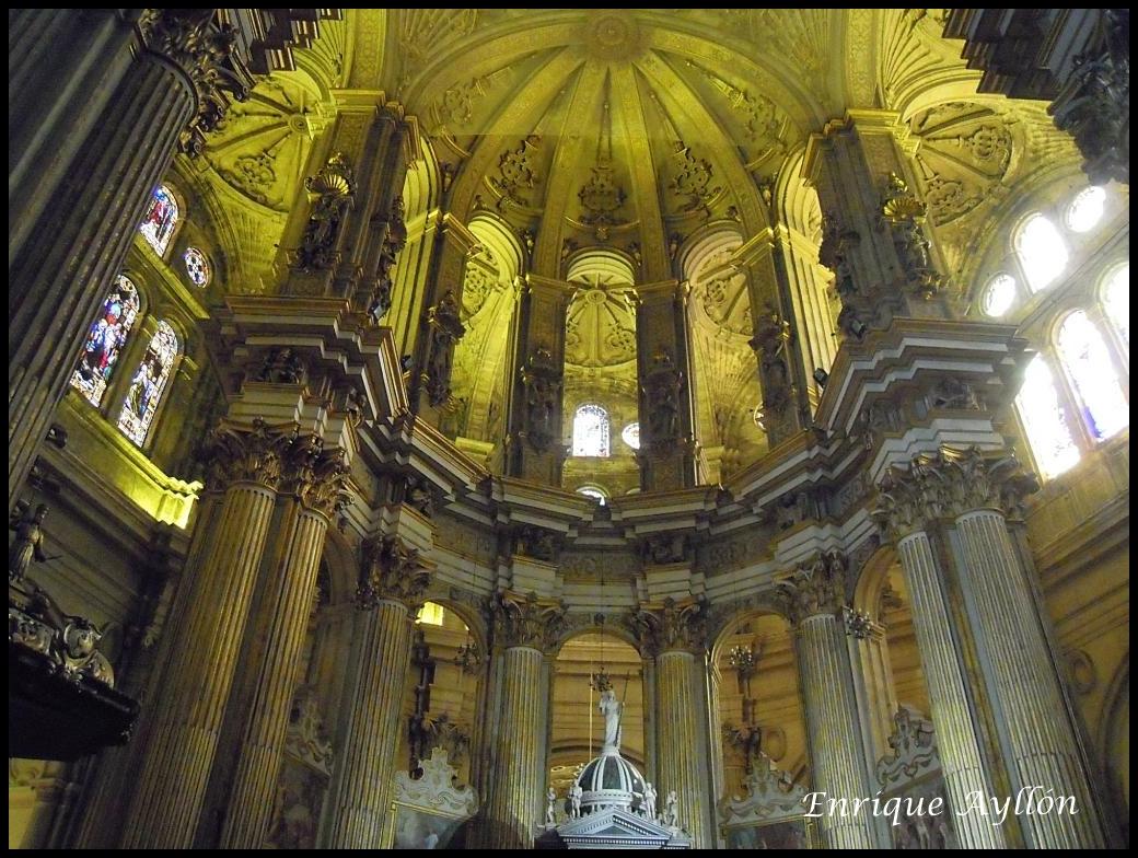 Catedral desde la giralda - Catedral de sevilla interior ...
